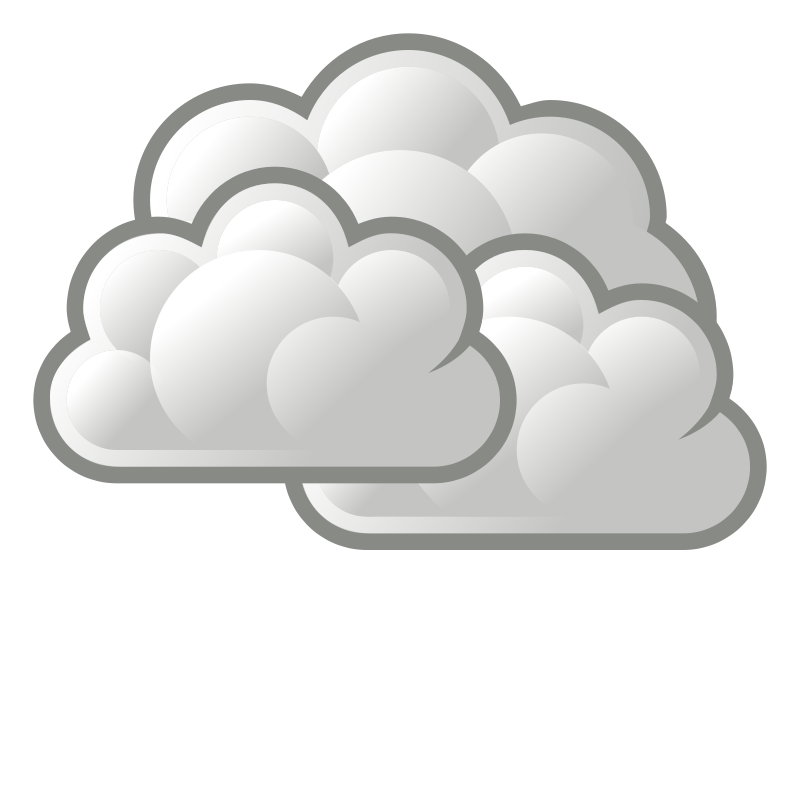 Gloomy clipart grey cloud Cliparts Cloudy art Zone Day