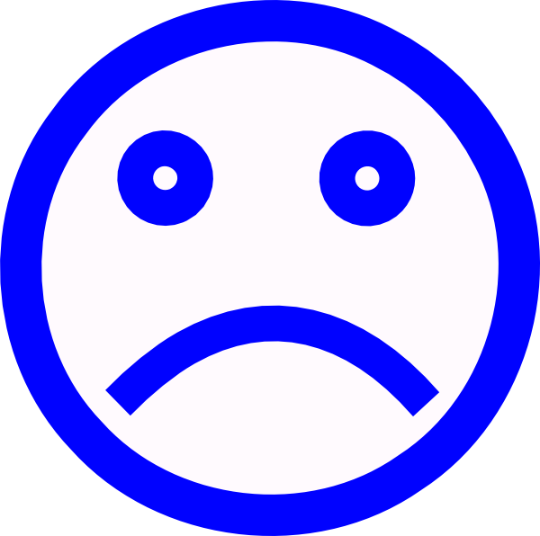 Sadness clipart frowny face White Free Images And Panda
