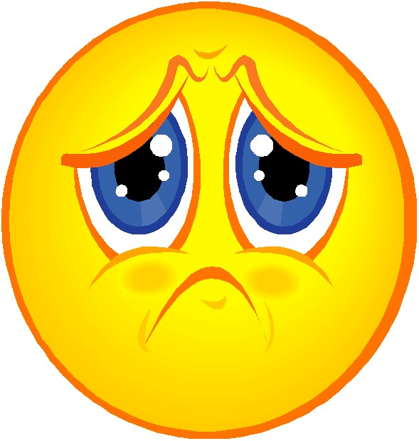 Smiley clipart upset Emoticon imágenes Doing Your and