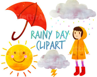 Gloomy clipart rainy day For Weather Clipart Rainy clipart