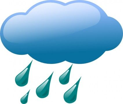 Gloomy clipart rainy day Best clouds Google free images