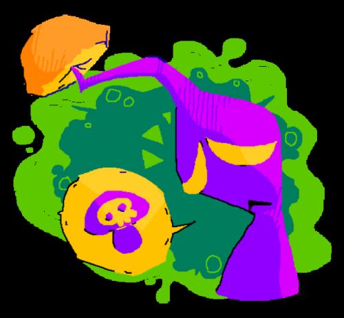 Gloomy clipart uncomfortable Game The mushroom original a