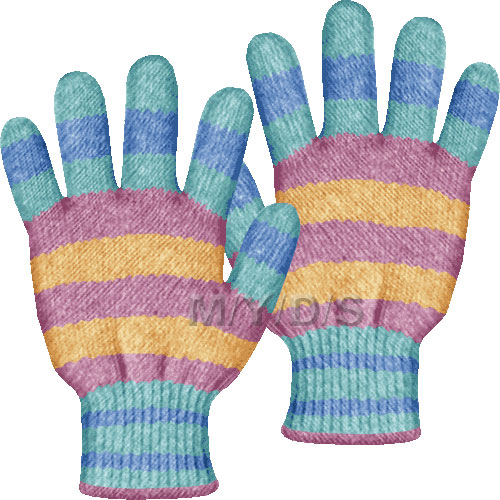 Glove clipart Clipart Gloves clipart / Large