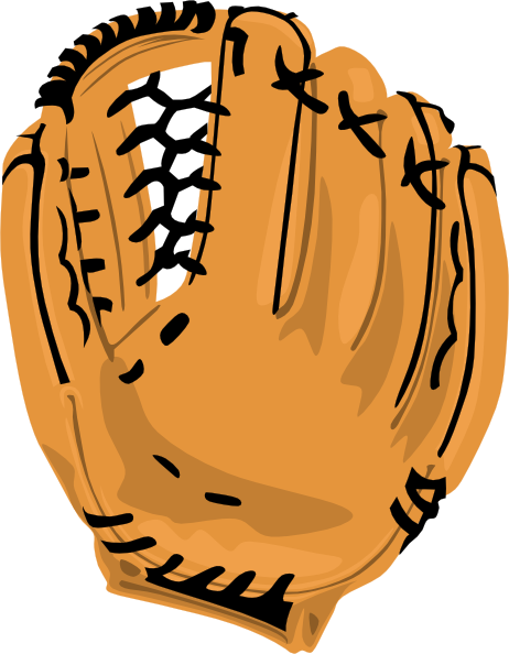 Bat clipart baseball mitt Art ClipartMonk Clip share glove
