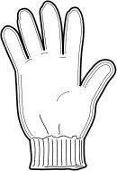 Glove clipart Free glove Graphics Clipart Free