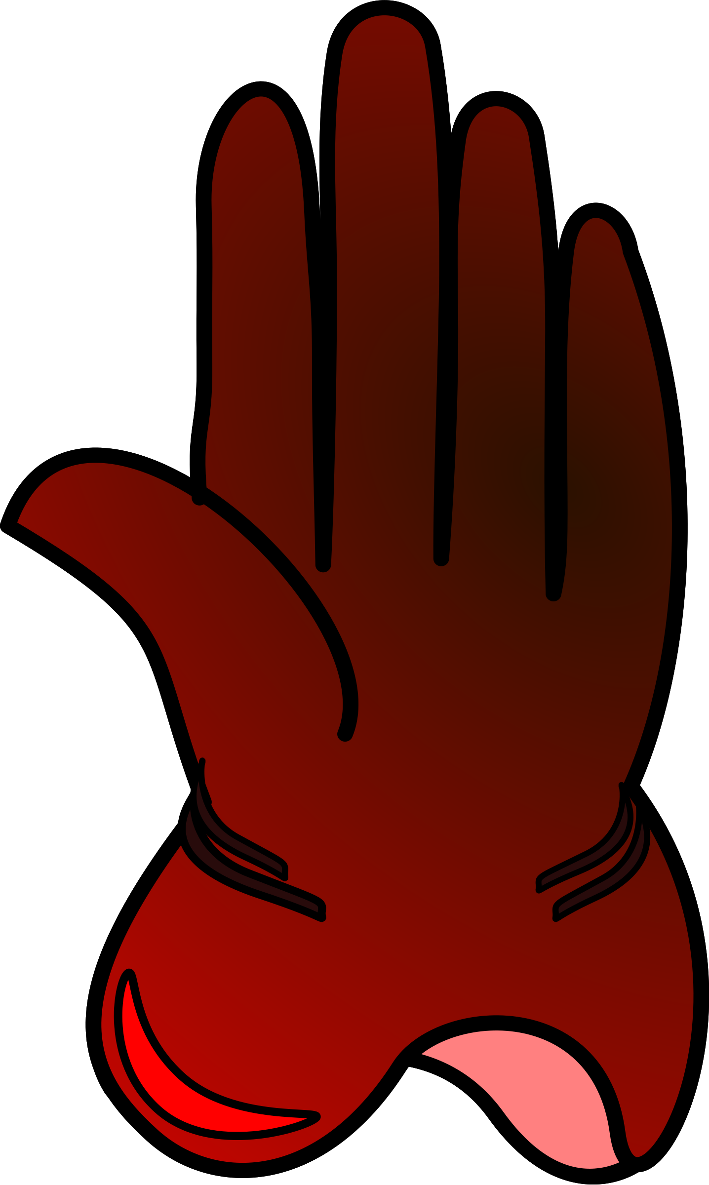 Glove clipart animated Clipart glove glove