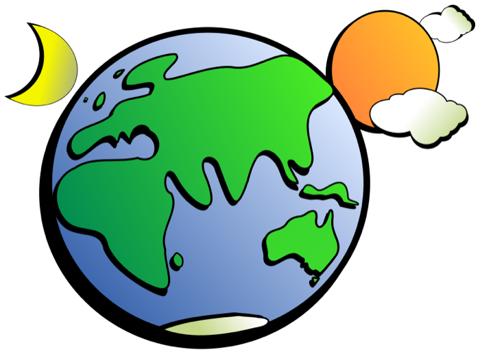 Moving clipart earth #1