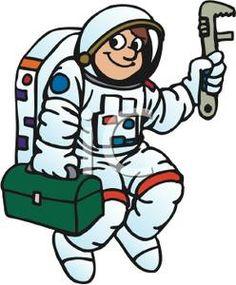 Tiiger clipart astronaut #5