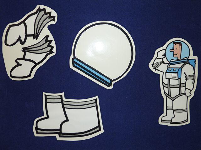 Glove clipart astronaut Mel's Desk Flannel Spacesuit Friday: