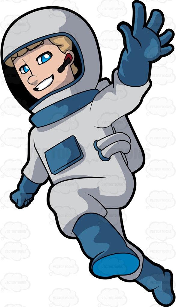 Tiiger clipart astronaut #7
