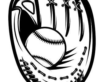 Leather clipart baseball mitt Ball SVG Ball Logo PNG