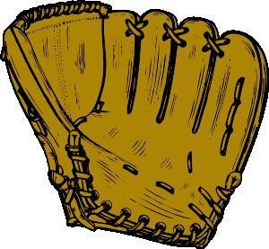 Baseball clipart baseball glove Vector Clip com Glove Art