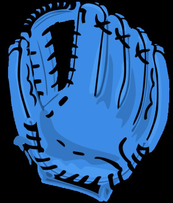Glove clipart blue Glove clipart baseball clipart –
