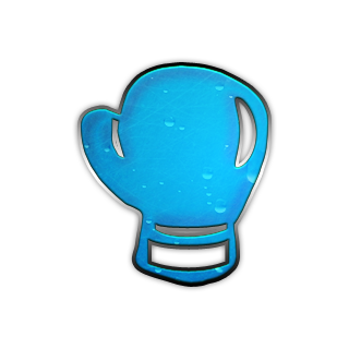 Glove clipart blue Icon Right » Boxing #043121