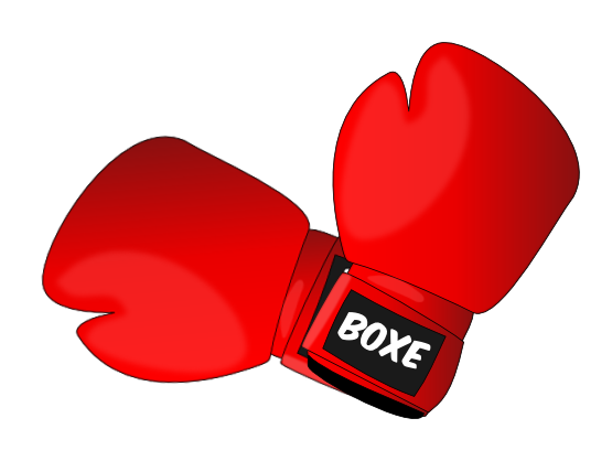 Glove clipart boxing To Public clip Domain boxing