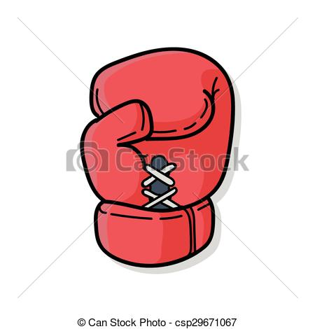 Glove clipart boxing Art of  Boxing doodle