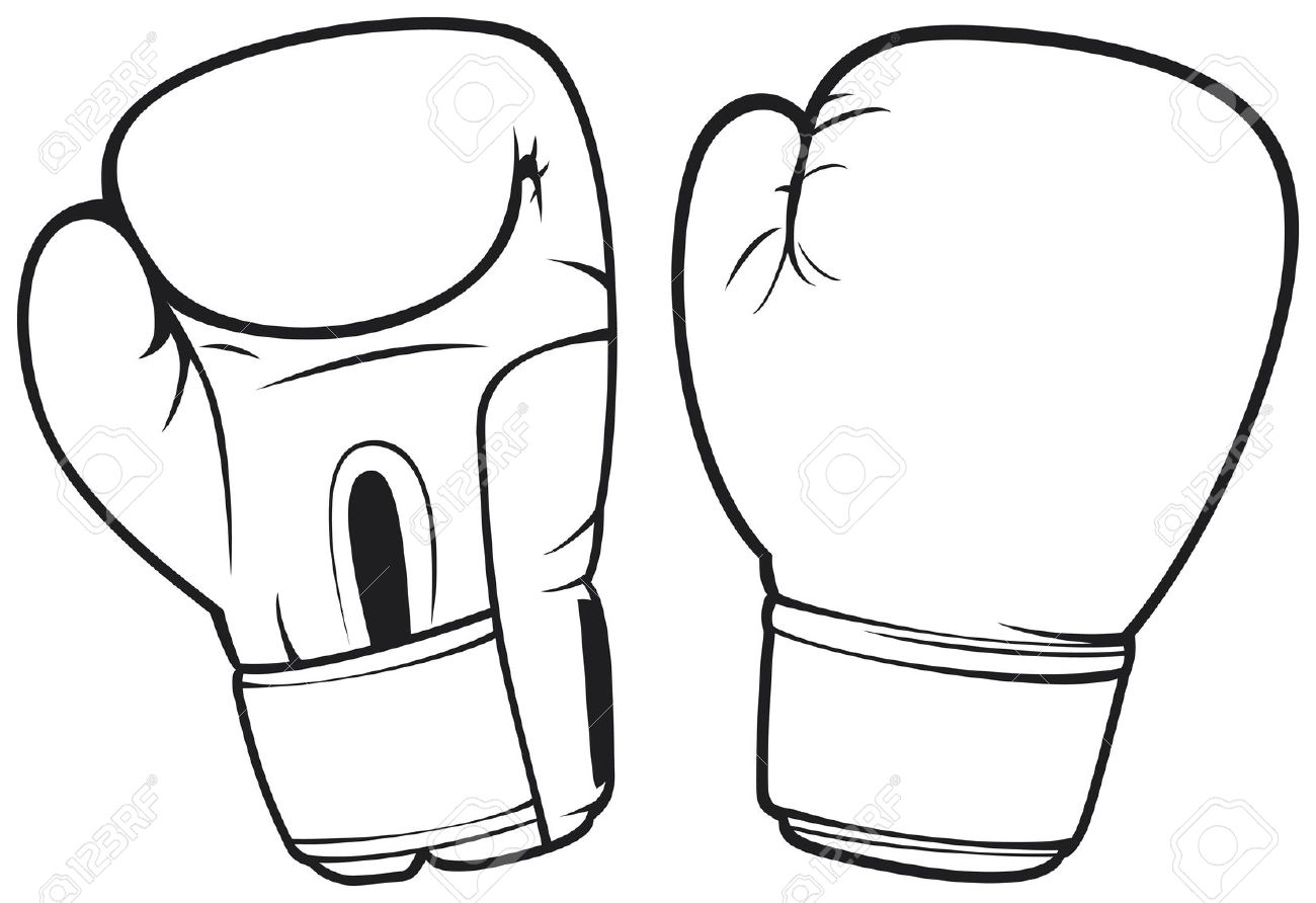 Glove clipart boxing Pages Glove Images Coloring Boxing