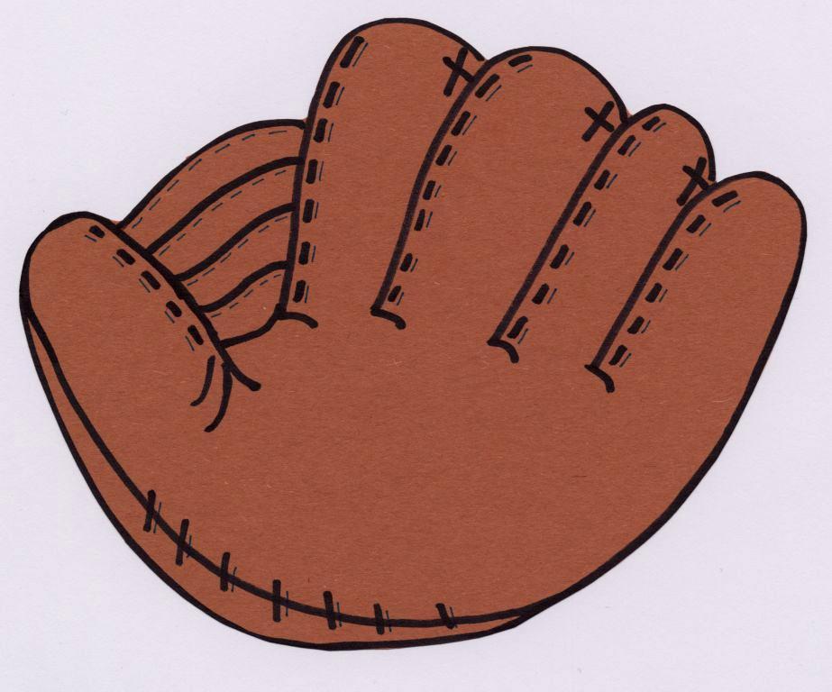 Leather clipart baseball mitt Felt Baseball co Board Illustrations
