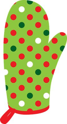 Baking clipart oven mitt Christmas ClipartChristmas · Minus CHRISTMAS