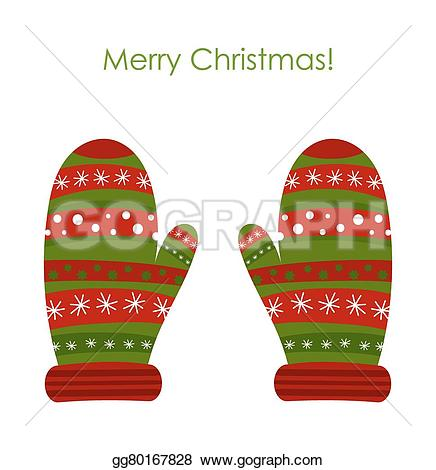 Glove clipart christmas Gg80167828 illustration Drawing GoGraph Warm