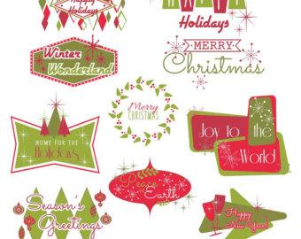 Glove clipart christmas ClipArt Christmas DIY Christmas Digital