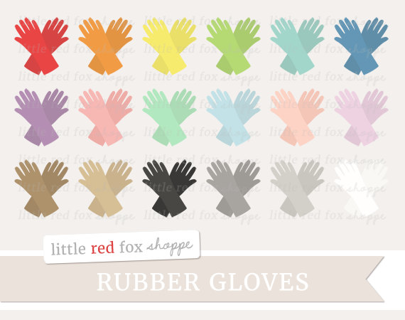 Glove clipart cute Graphic Glove Clipart Small Kitchen