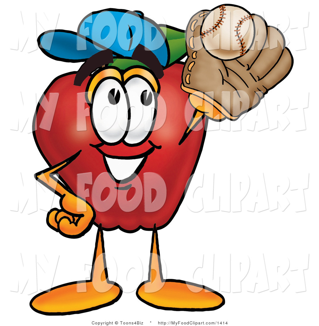 Glove clipart food Catching Sporty Sporty with Red
