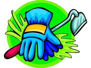Glove clipart garden glove Garden Ridgeway / Meetings Basket