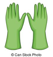 Glove clipart garden glove Garden Illustrations   Garden