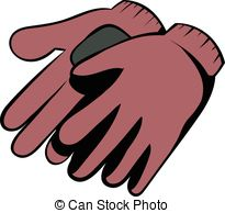 Glove clipart garden glove 662 Clipart gloves  cartoon