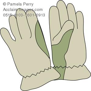 Glove clipart gardening glove Illustration Art Gardening Pair Men's
