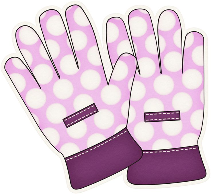 Glove clipart gardening glove Pinterest on ART GARDEN GLOVES