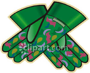 Glove clipart gardening glove Clipart Free Gardening Pretty Gardening