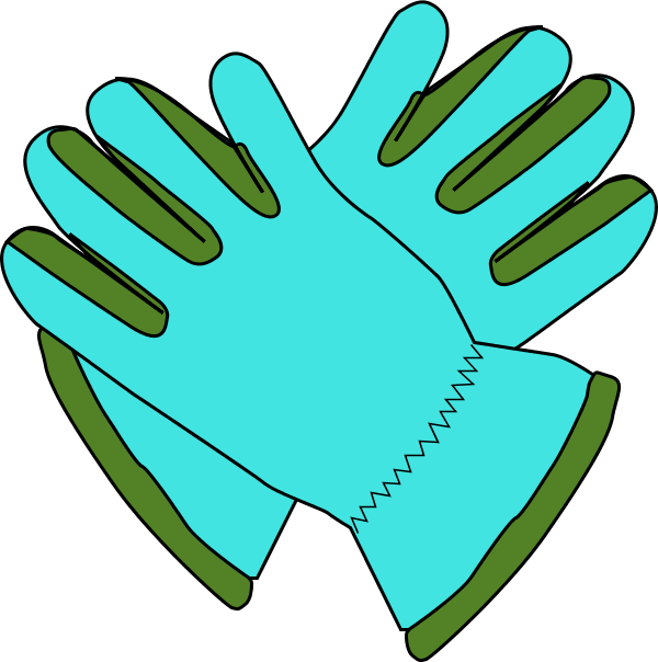 Glove clipart gardening glove Gclipart Work gloves – 2