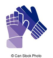Glove clipart goalkeeper glove  gloves Clipart of icon