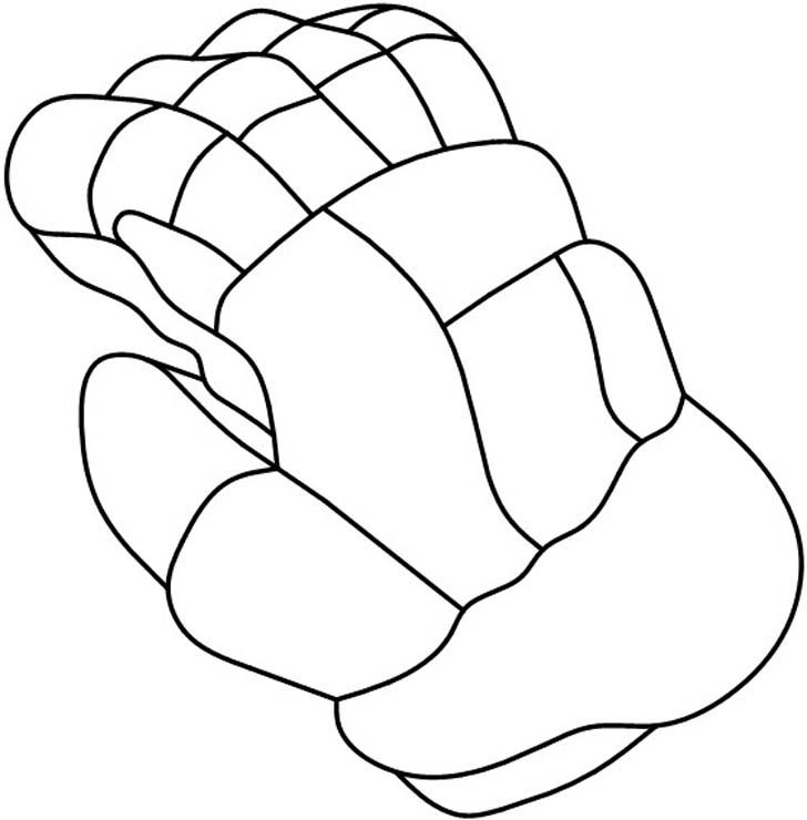 Glove clipart ice hockey Stained pattern Hockey Sports 20