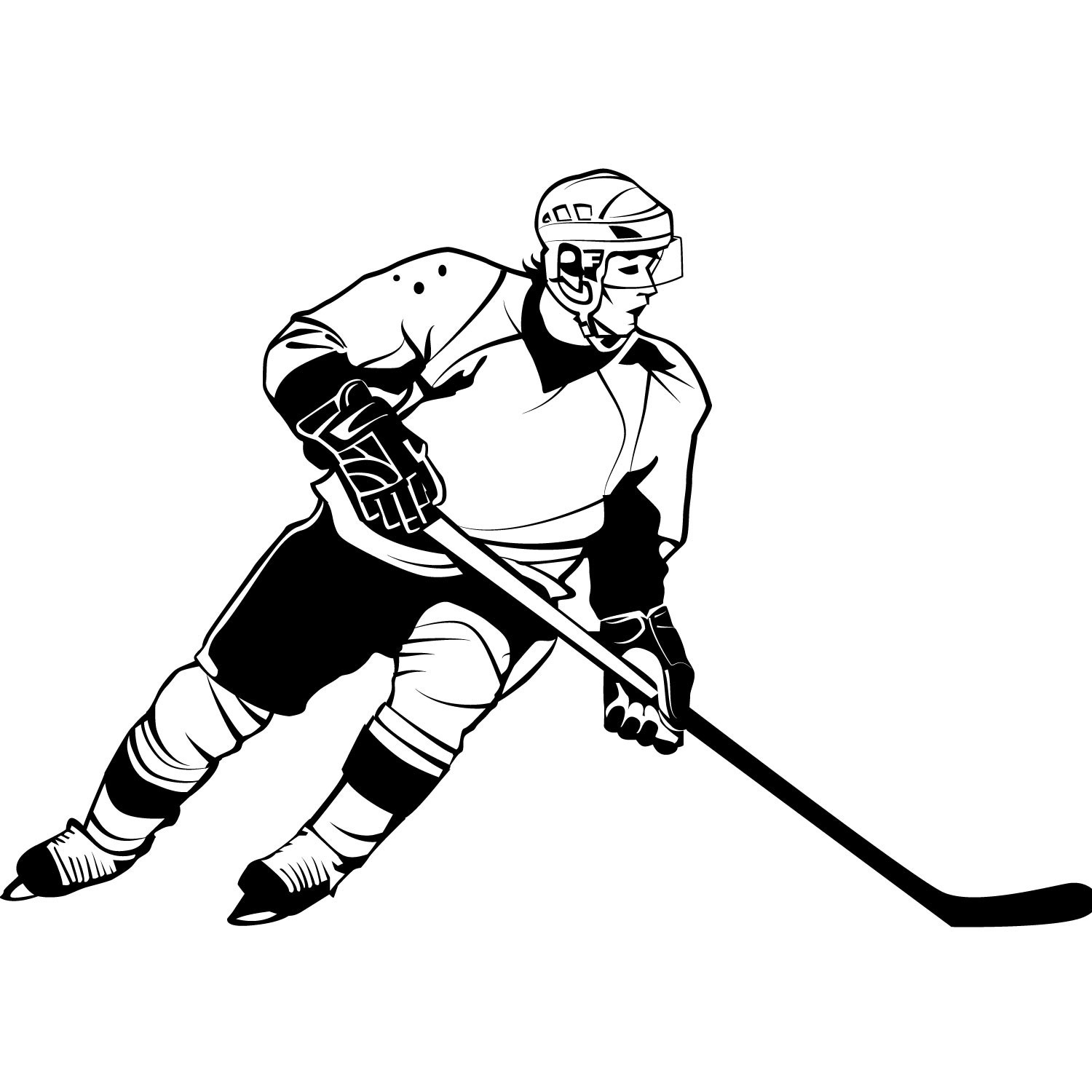 Glove clipart ice hockey Clipart Player Free on Clipart