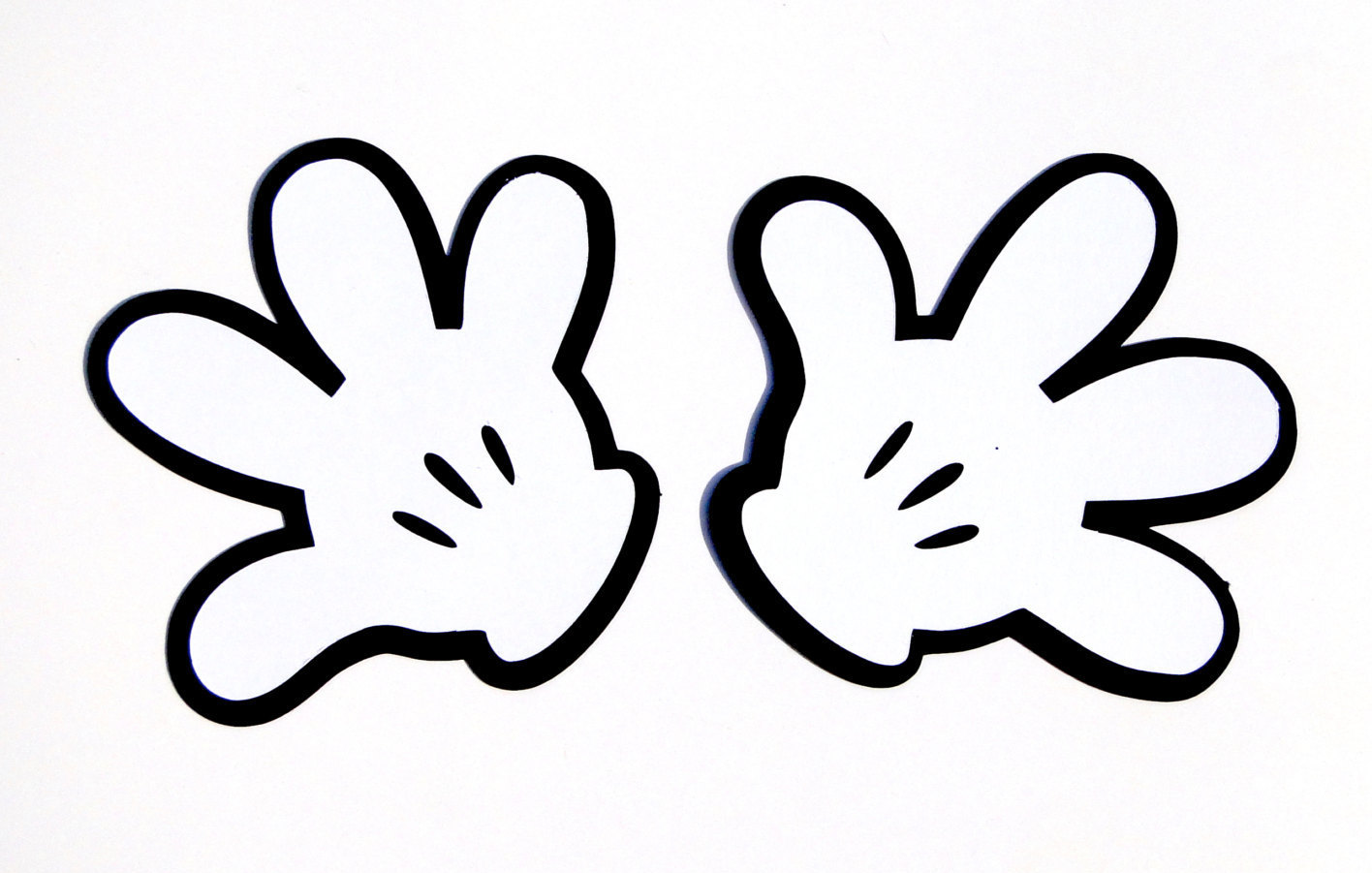 Glove clipart mickey Gloves Masteri Clip Mouse Mickey