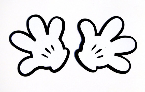 Glove clipart minnie mouse #2