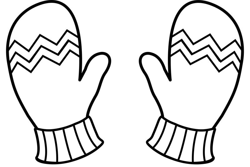 Glove clipart mitten outline Hall Tournament IMLeagues College/Badminton) IM