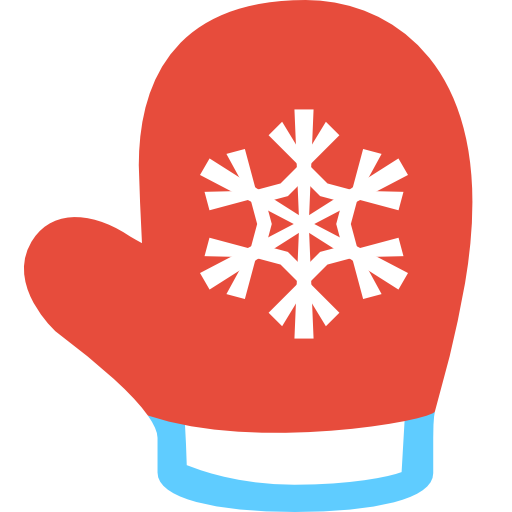 Yellow clipart mitten Christmas Red cliparts Clipart Mittens