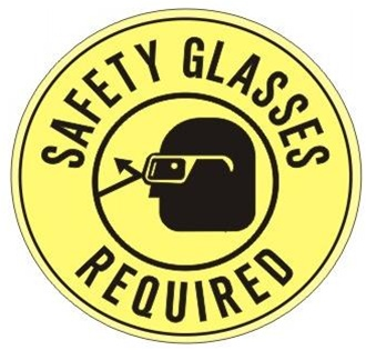 Glove clipart safety goggles Safety  Vector Safety reminder