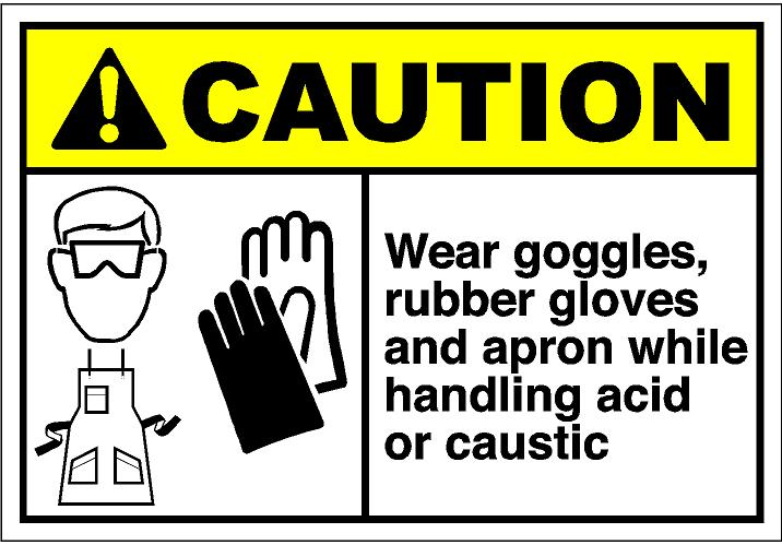 Glove clipart safety goggles CautH316 and eps Store: apron