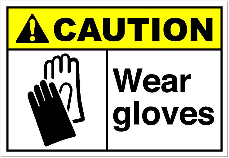 Glove clipart safety goggles CautH314 Store: Art SAi eps
