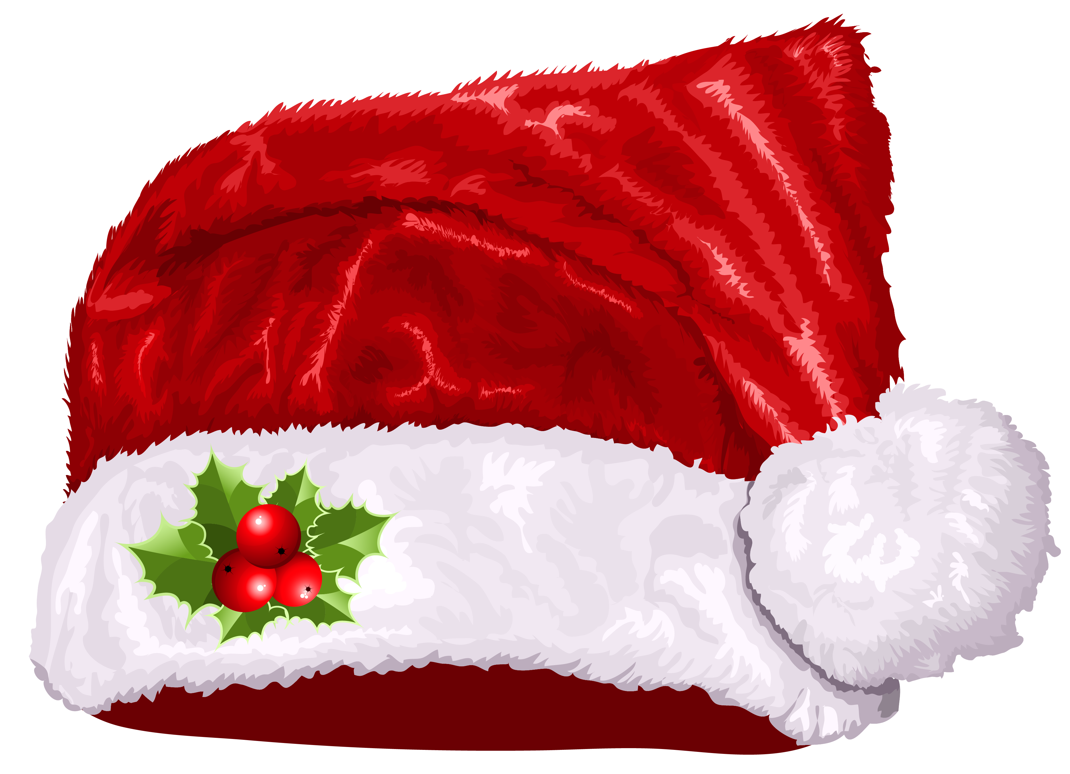 Realistic clipart santa hat Collage Christmas Search clipart gloves