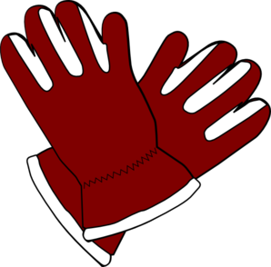 Glove clipart science Red Art Gloves clip at