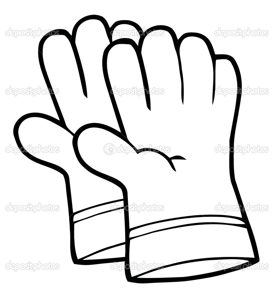 Glove clipart science Of cps Gloves Gardening Clipart