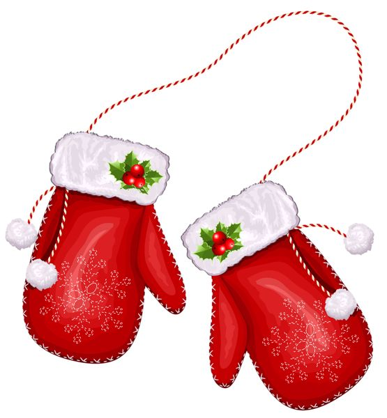 Sanya clipart mittens On xmas images 4 PNG