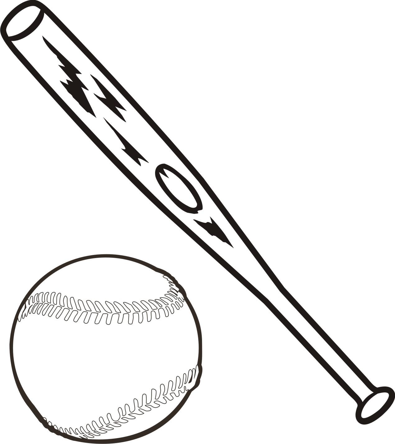 Black clipart baseball bat Clipart kid Cliparting baseball bat
