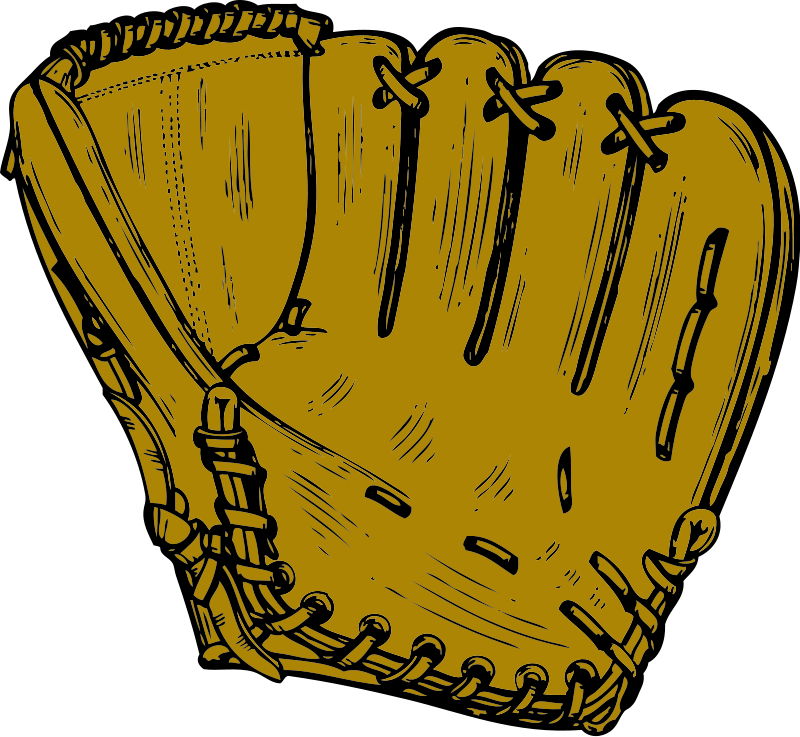 Leather clipart baseball mitt And Clip Art Download #